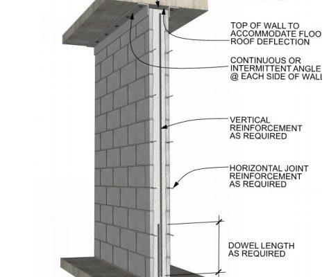 MASONRY Insights Partition Walls drawing