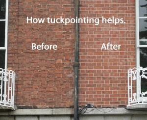 before and after repointing