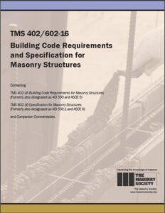 masonry tms code book