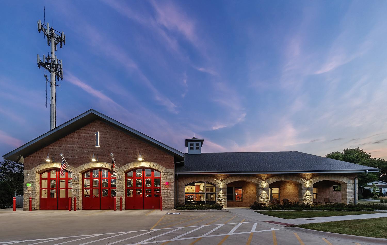 fire station in Lockport Illinois