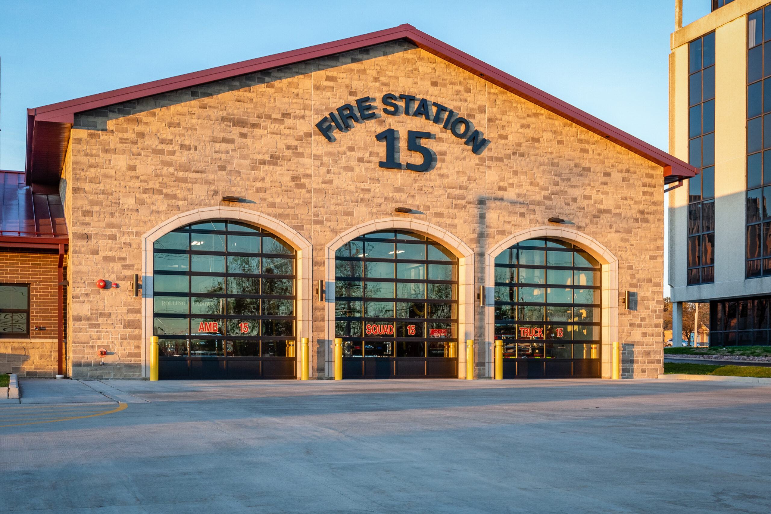 fire station in rolling meadows