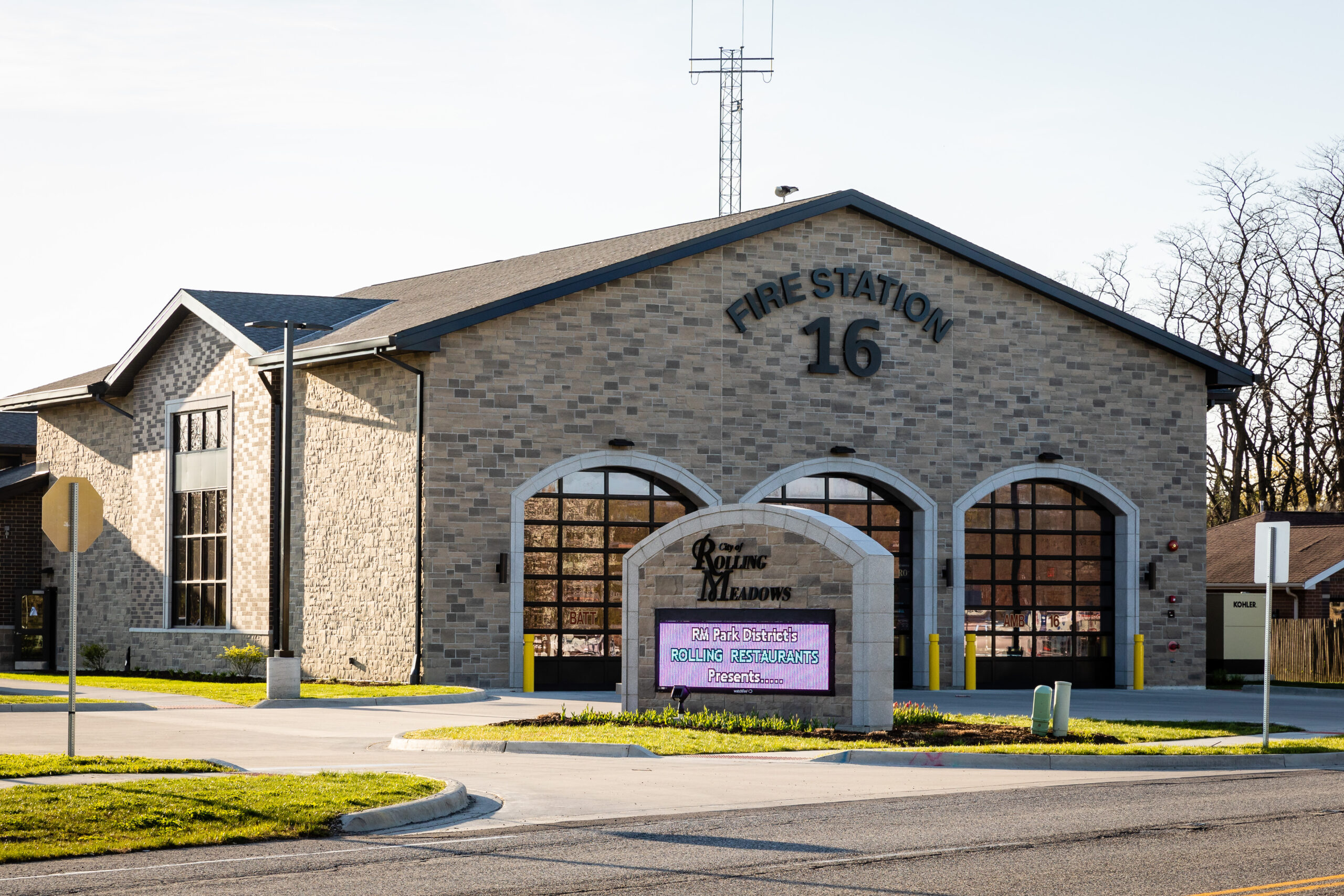 fire station rolling meadows